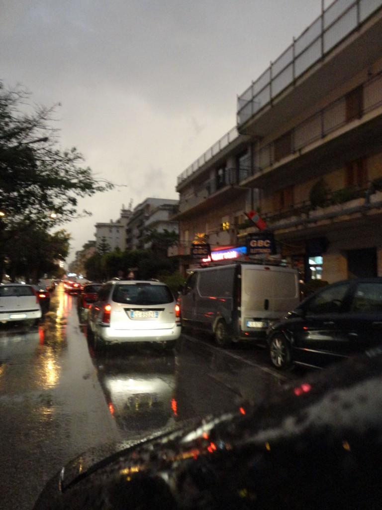 pioggia alcamo