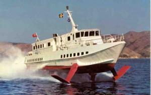 aliscafo barca isola