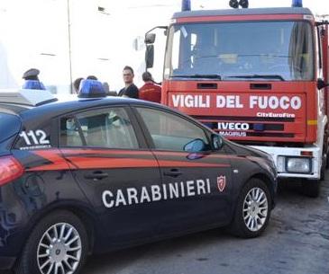 Carabinieri e Vigili del Fuoco