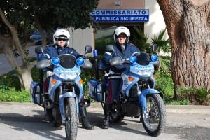 Moto Volonti Polizia