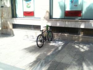 Rastrelliere Biciclette Piazza Ciullo