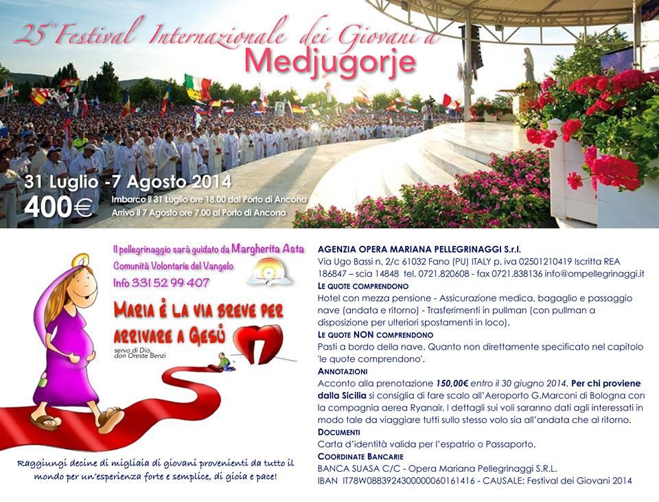 festival medjugorje
