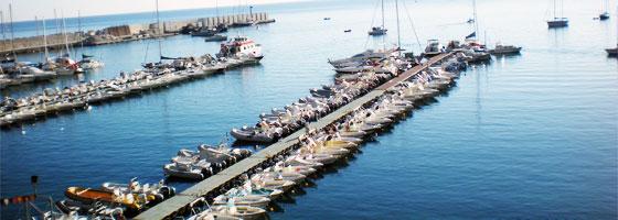 pontile castellammare del golfo