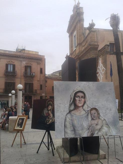 Mostra Pittura Alcamo Corso VI Aprile (1)