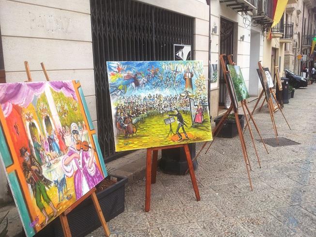 Mostra Pittura Alcamo Corso VI Aprile (2)