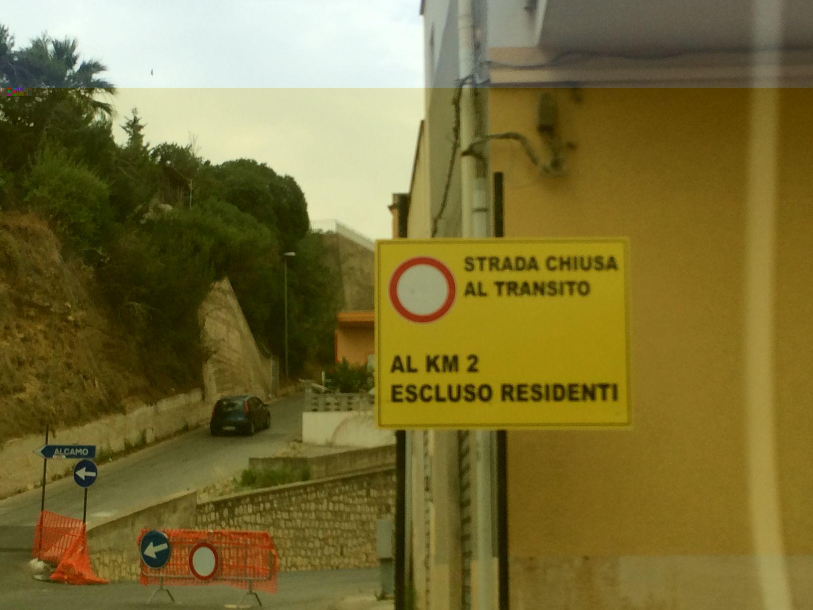 Svincolo Alcamo Marina Disagi (4)