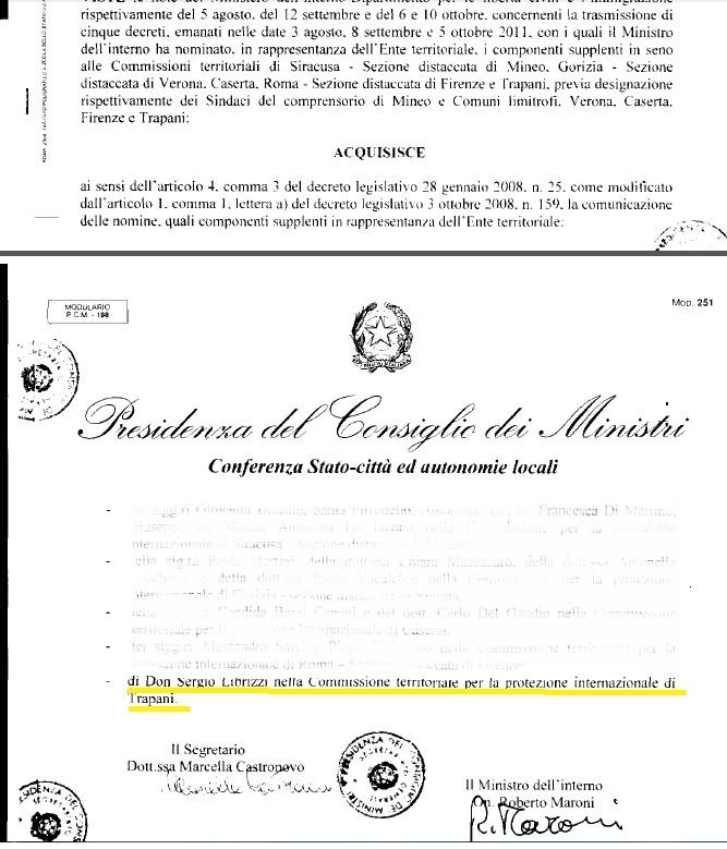 Verbali commissione riconoscimento protezione internazionale 2