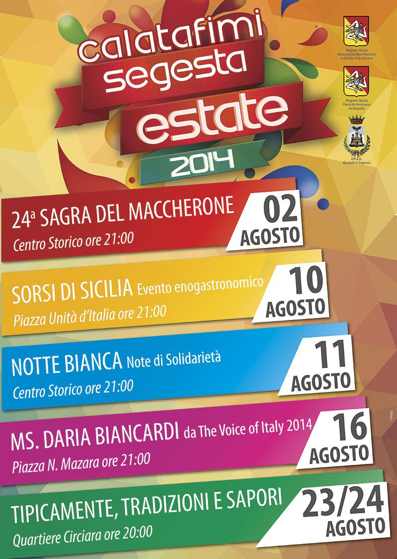 Calendario Eventi.Un Calendario Ricco Di Appuntamenti Quello Dell Estate 2014