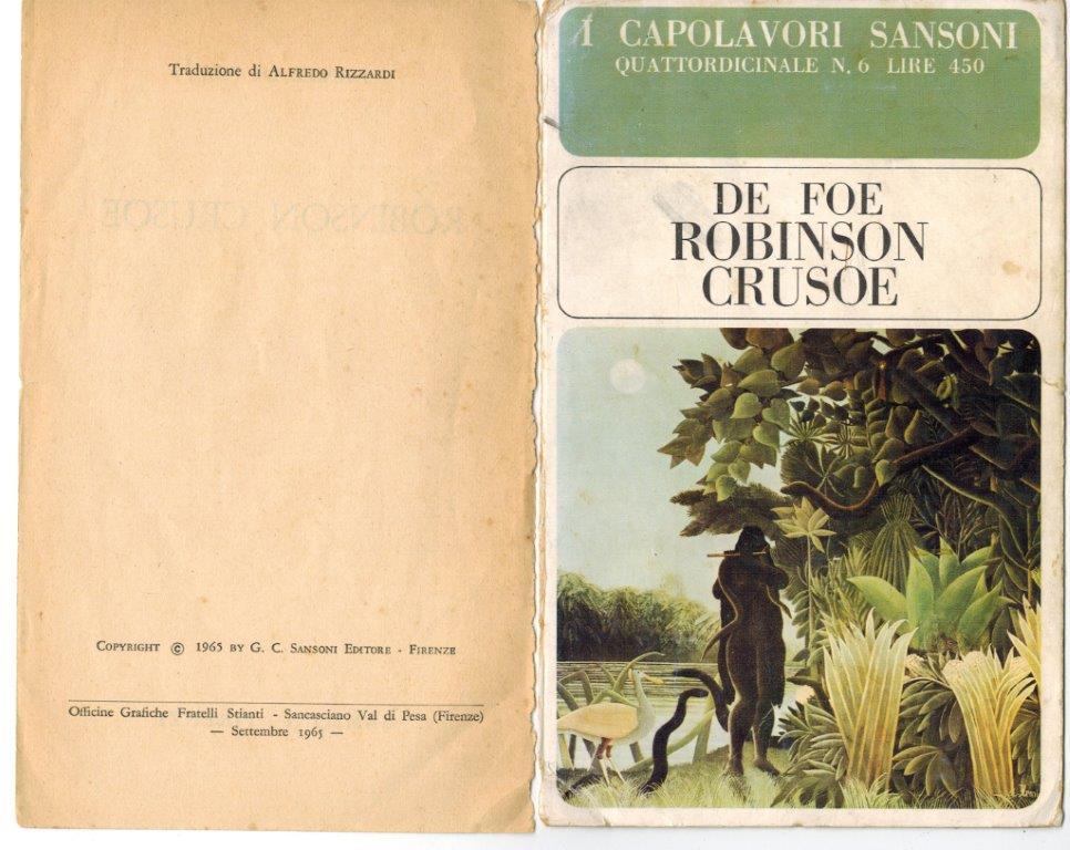 Alcamo Defoe Copertina Sansone