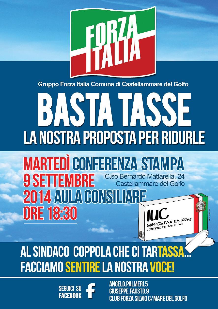 Forza Italia Castellammare del golfo Tasse