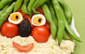 faccia verdura
