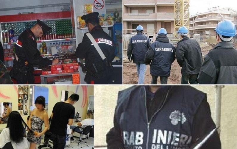 Carabinieri Lavoro Nero