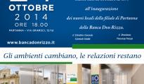 Invito inaugurazione Partanna