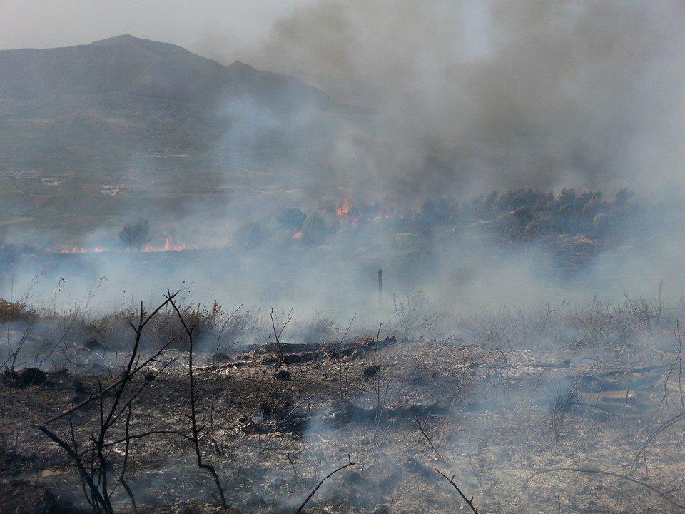 montagna incendio 13 ottobre 2014 3