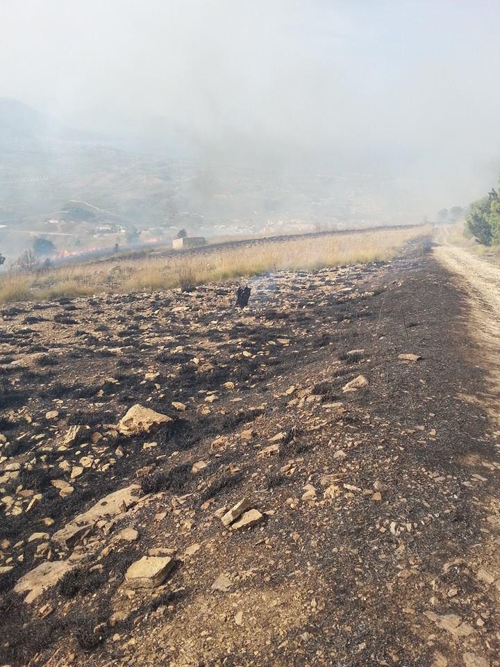 montagna incendio 13 ottobre 2014