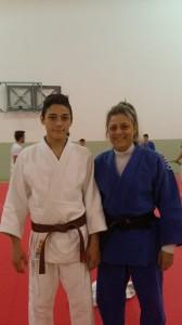 Nella foto: Cristiano Grimaudo con il maestro Cristina Cianti