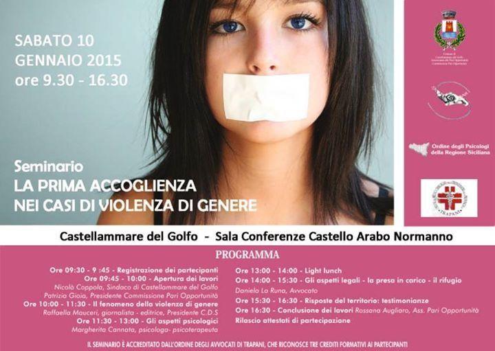 Conferenza Donne Castellammare del golfo