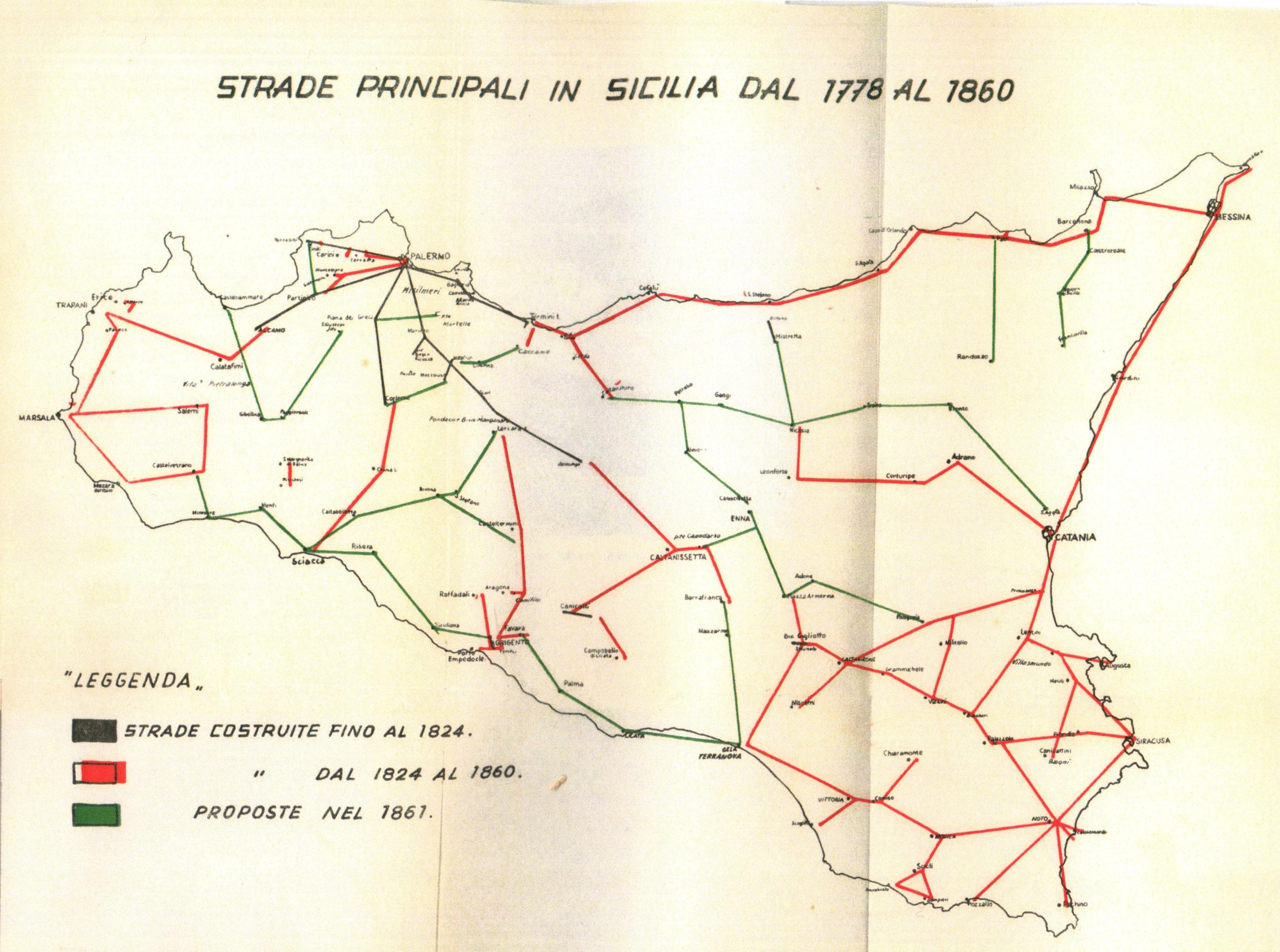 Sicilia Perez Strade principali