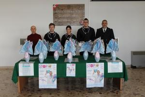 Nella foto il 1 M llo ALAGNA referente dell'iniziativa insieme ai colleghi Bianco Fasulo Messina e Maria