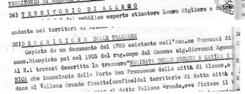 Relazione Trazzere Trapani Palermo 2