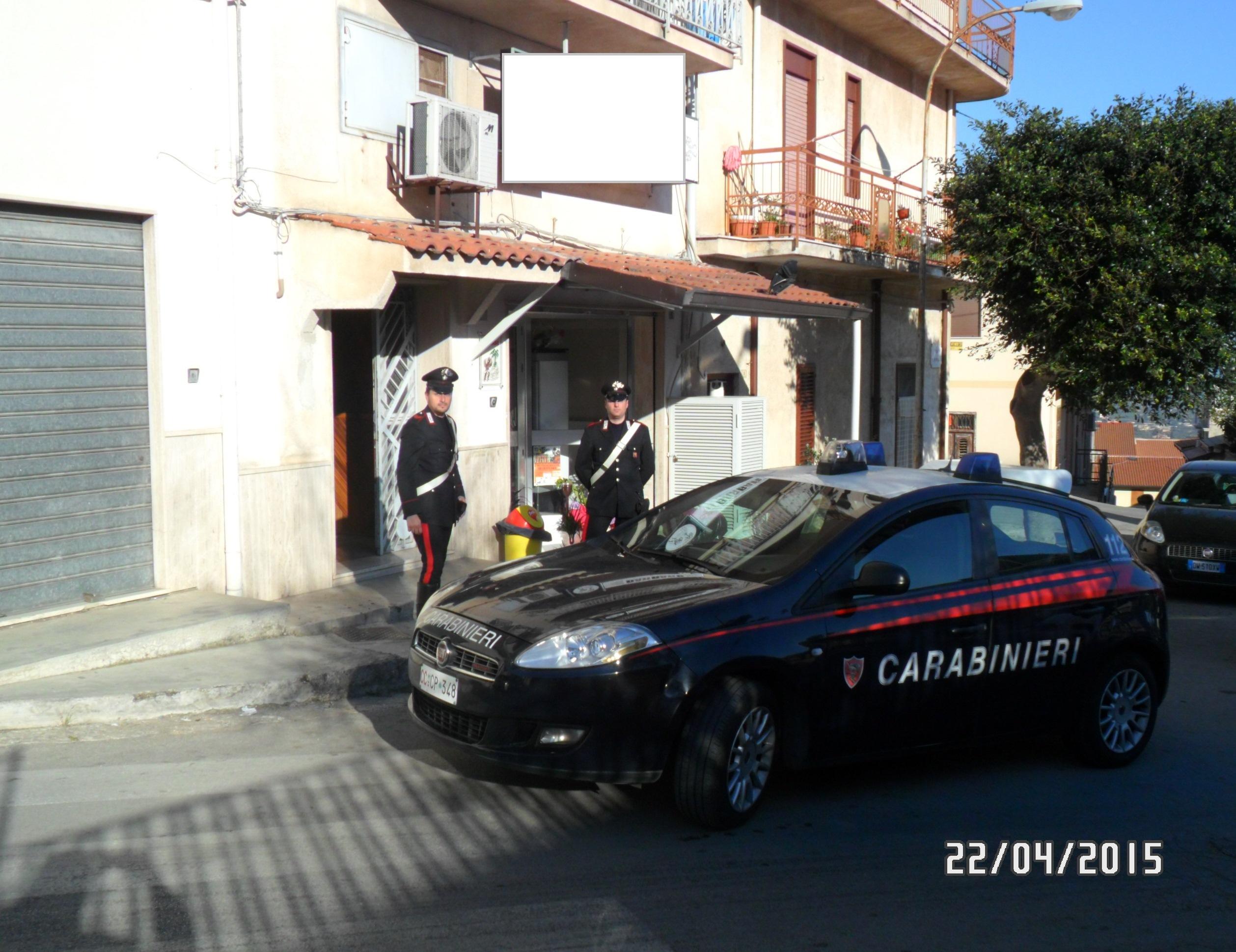 carabinieri borgetto centro accoglienza