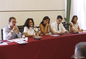 Trapani 30.07.2015Conferenza stampa Palazzo D'AlìAUDItron sailing series a Trapani