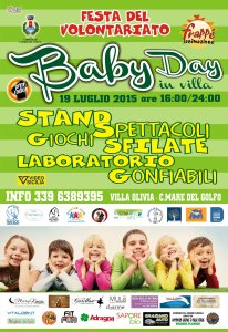BABY DAY fronte