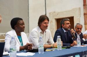 SoS Immigrazione tavolo relatori