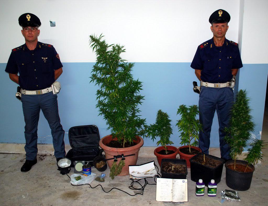 Arresti Marijuana Mazara
