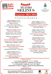 Selinus locandine stagione 2015-2016-1