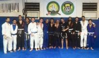 Atleti della Trinacria BJJ Academy con Danilo Belluardo