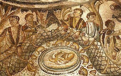 Banchetto mosaici Tellaro