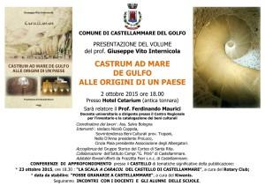 Presentazione libro Castrum ad mare