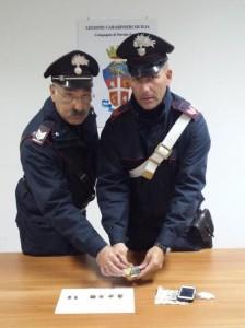 Carabinieri contro lo spaccio