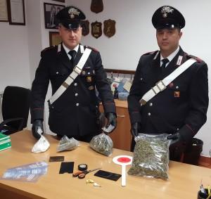 Market della droga Carabinieri