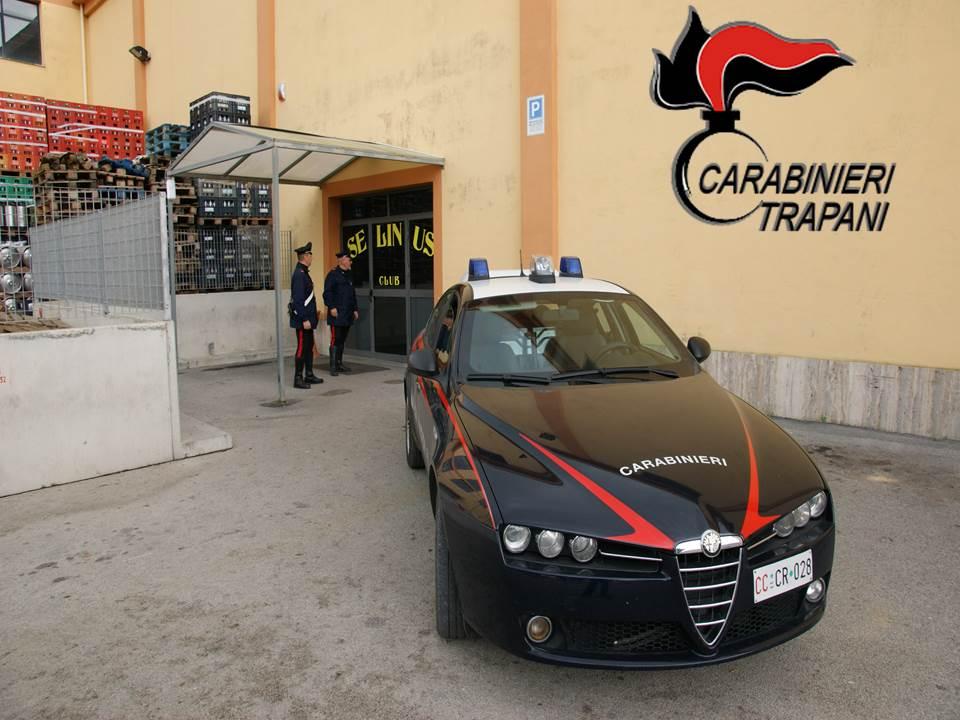 Carabinieri Castelvetrano Accoltellamento