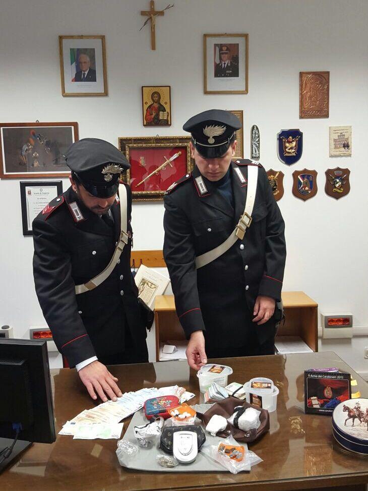 Carabinieri Monreale FOTO DROGA