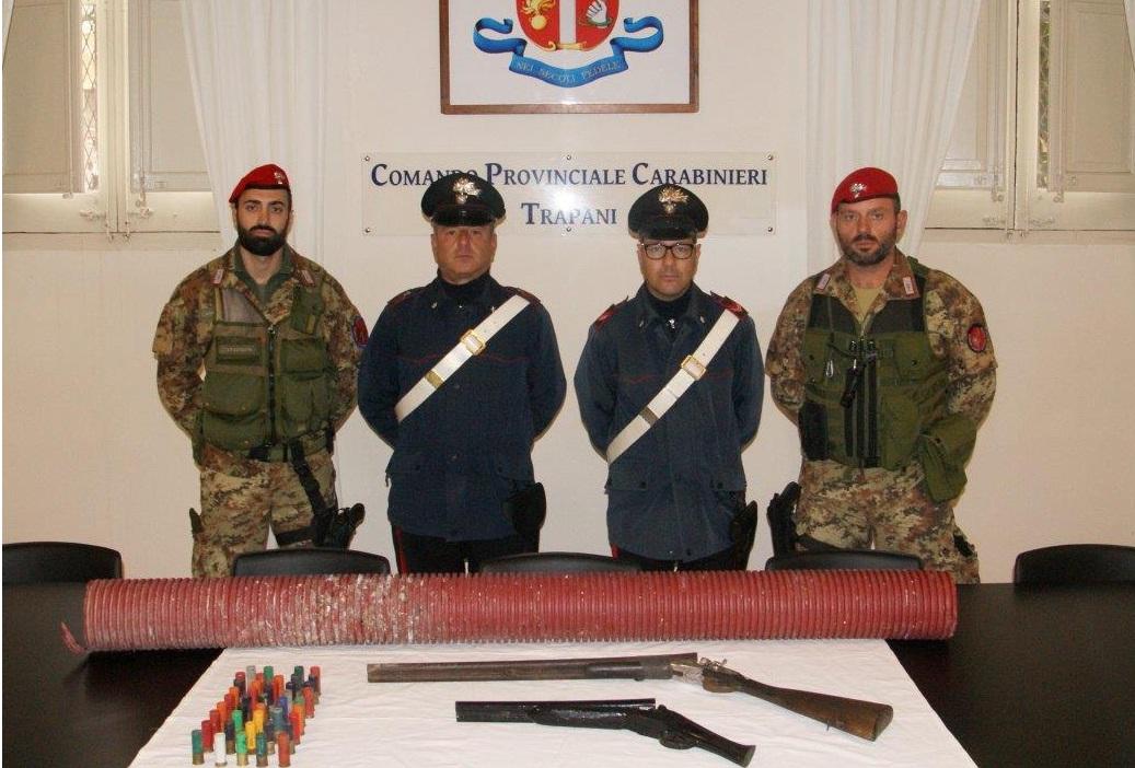 Carabinieri Trapani Armi