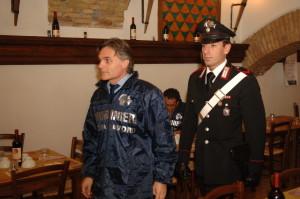 Carabinieri contrasto lavoro nero
