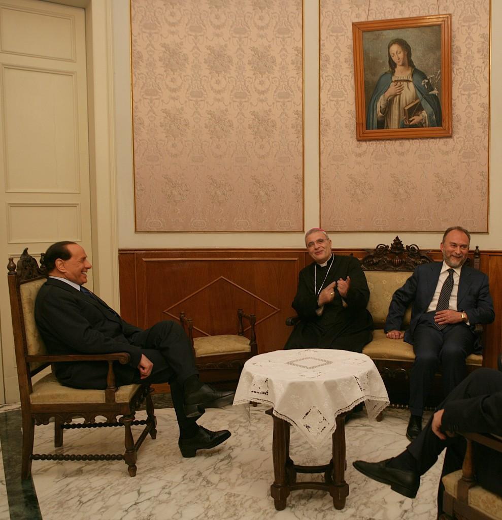 Micciché Berlusconi D'Alì