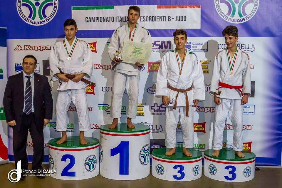 Judo Cristiano Grimaudo Argento