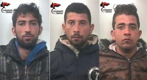 Carabinieri Arresti per furto