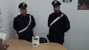 Carabinieri Partinico furto energia elettrica