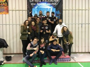Il Team Bresciani al Pala Tre Santi
