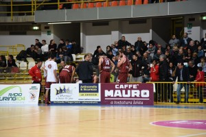 Pallacanestro Trapani squadra timeout