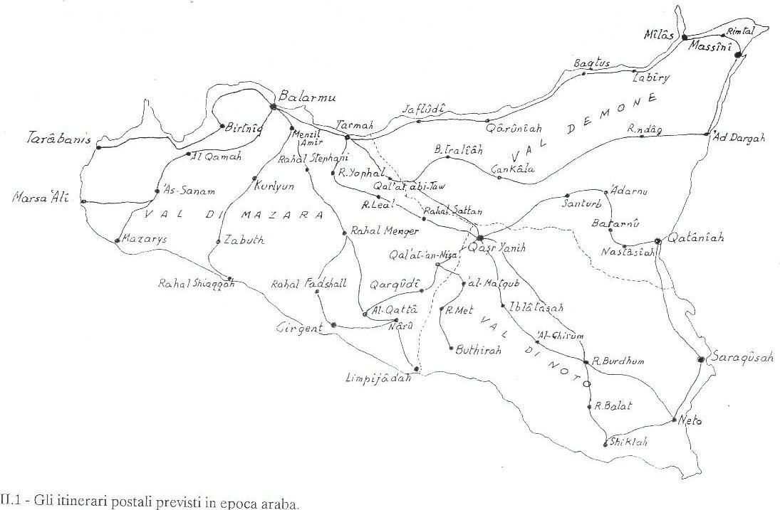 itinerari epoca araba trazzere