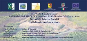 presentazione report psl 2007_2013 e programmazione 2014_2020 - invito