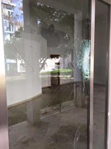 Caffé Letterario di Alcamo Atto vandalico (2)