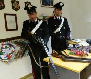 Carabinieri Altofonte Armi