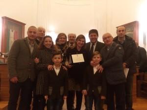 Premiazione Eros Adragna